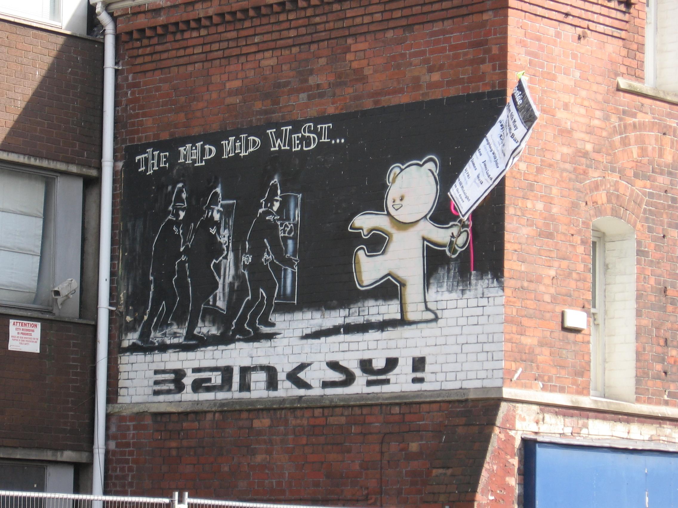 Banksy_MIld_Mild_West_and_poster