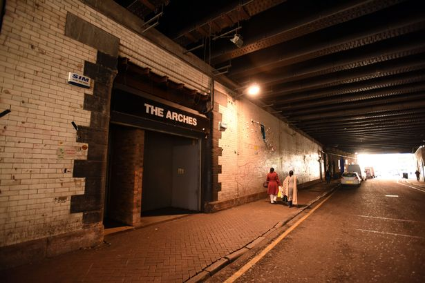 the arches