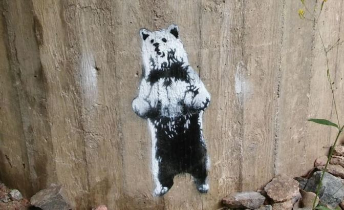 SOMEONE THINKS THEY'VE FOUND A NEW BANKSY IN HELSINKI