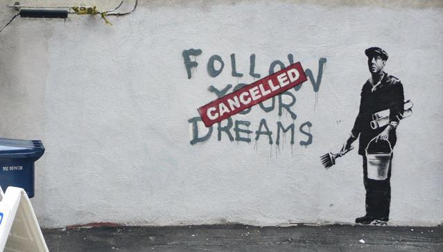FROM SPANISH BROTHEL TO BREXIT COMMENTARY: HOW BANKSY'S JOURNEY FROM OBSCURITY TO OMNIPRESENCE ACTS AS METAPHOR FOR THE CURRENT CLIMATE CONCERNING BRITAIN'S RELATIONSHIP WITH EUROPE.